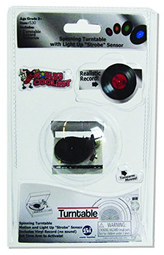 Novelty World's Smallest World's Coolest Turntable Collect