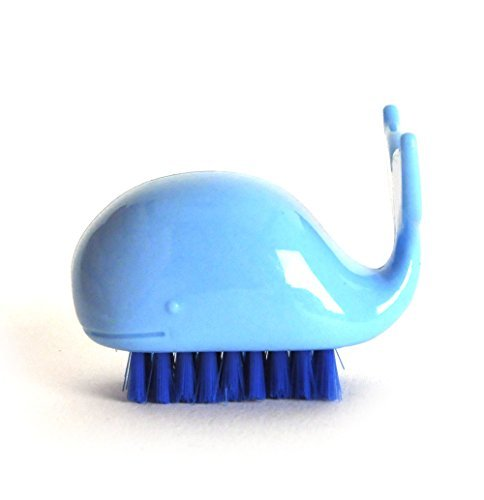 Novelty Whale Nail Brush Random Colours