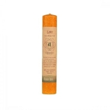 Candle Aloha Bay Chakra Pillar Cndl Orange 8 In