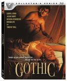 Gothic Byrne Sands Richardson Blu Ray R