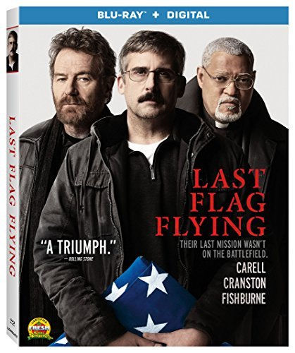 Last Flag Flying Carell Fishburne Cranston Blu Ray Dc R
