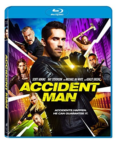 Accident Man Greene Adkins Blu Ray R