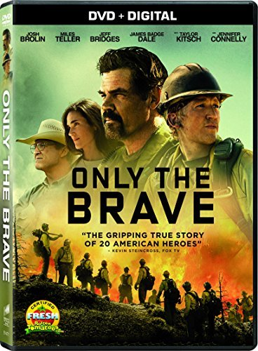 Only The Brave Brolin Teller Bridges Connelly DVD Dc Pg13