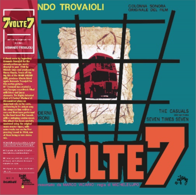 7 Volte 7 Colonna Sonora Armando Trovajoli (orange Vinyl) Color Lp