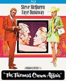 Thomas Crown Affair (1968) Mcqueen Dunaway Blu Ray R