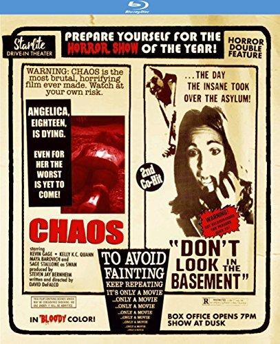 Chaos Don't Look In The Basement Double Feature Blu Ray R