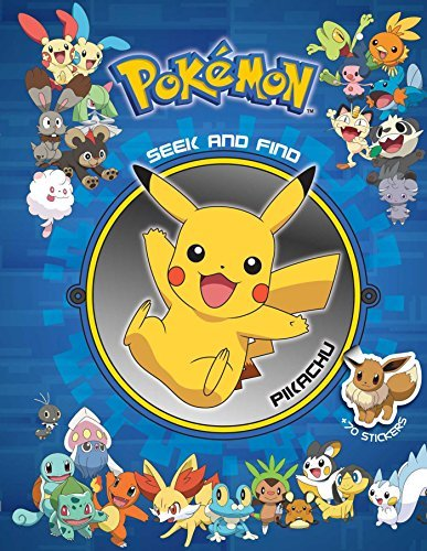 Viz Media Pokemon Seek And Find Pikachu