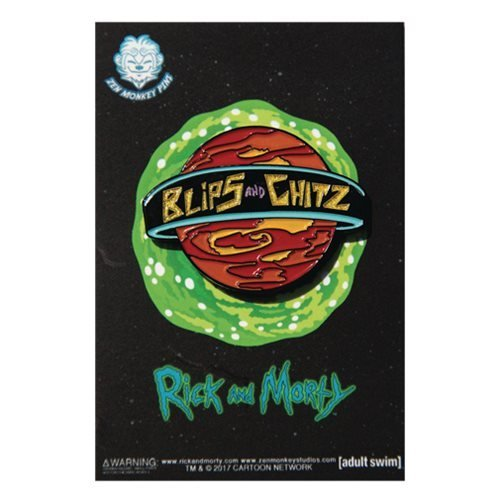 Enamel Pin Rick And Morty Blips And Chitz
