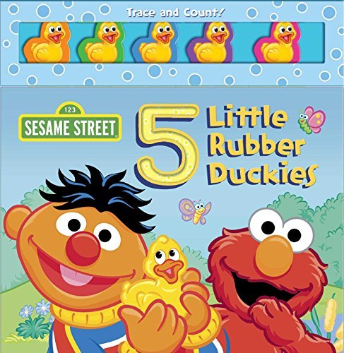 Matt Mitter Sesame Street 5 Little Rubber Duckies