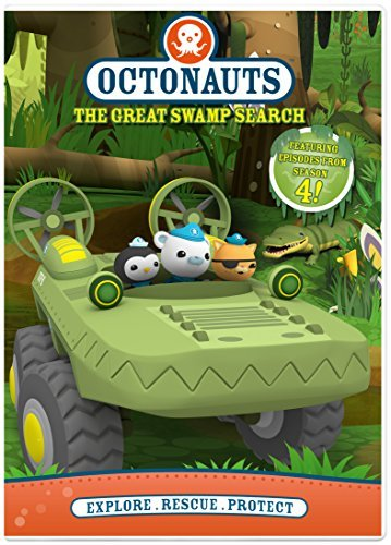 Octonauts The Great Swamp Search DVD
