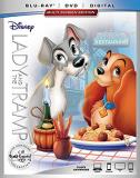 Lady & The Tramp Disney Blu Ray DVD Dc G Signature Collection