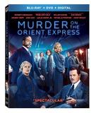 Murder On The Orient Express (2017) Depp Branagh Cruz Dench Dafoe Gad Ridley Pfeiffer Blu Ray DVD Dc Pg13