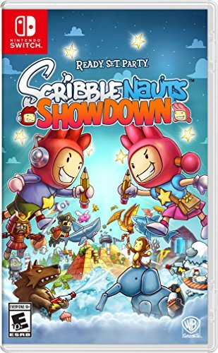 Nintendo Switch Scribblenauts Showdown