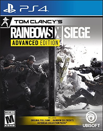 Ps4 Tom Clancy's Rainbow Six Siege Advanced Edition