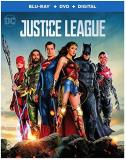 Justice League (2017) Affleck Gadot Momoa Fisher Miller Cavill Blu Ray DVD Dc Pg13