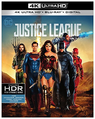 Justice League (2017) Affleck Gadot Momoa Fisher Miller Cavill 4k Pg13