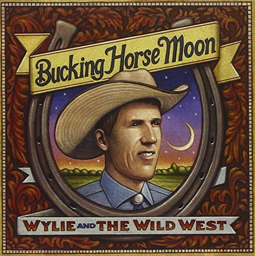Wylie & Wild West Bucking Horse Moon