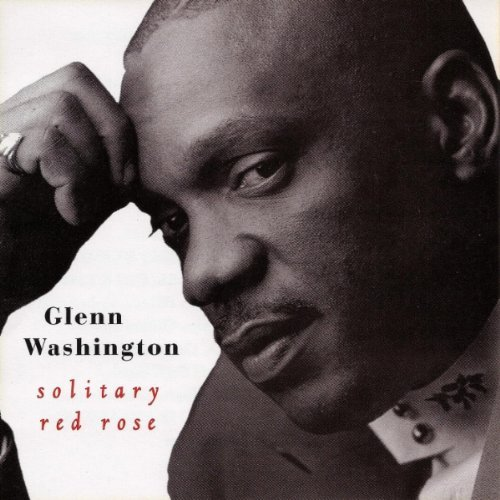 Glenn Washington Solitary Red Rose