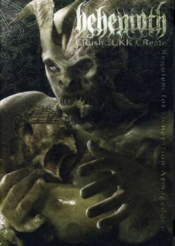 Behemoth Crush Fukk Create 2 DVD Set