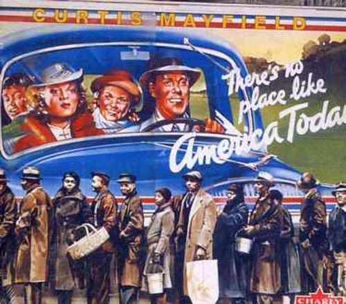 Curtis Mayfield There's No Place Like America Import Gbr