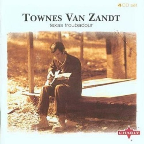 Townes Van Zandt Texas Troubadour 4 CD