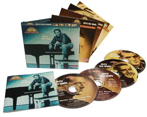 Jerry Lee Lewis Sun Essentials 4 CD