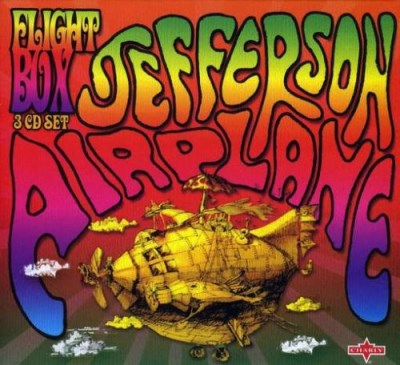 Jefferson Airplane Flight Box At Golden Gate Par 3 CD