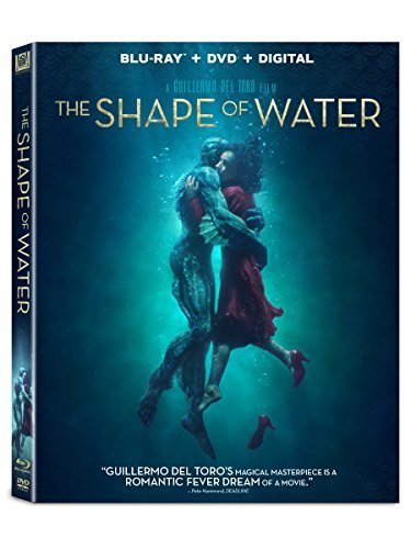 The Shape Of Water Hawkins Spencer Shannon Jenkins Blu Ray DVD Dc R