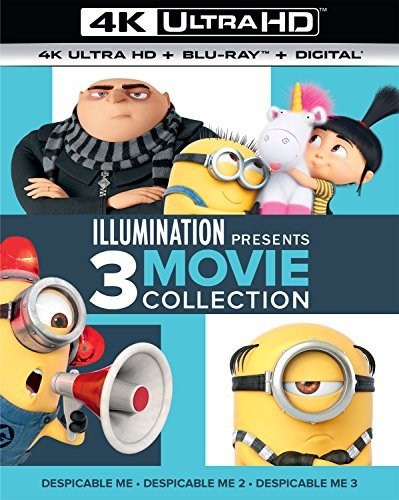 Despicable Me 3 Movie Collection 4k