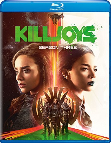 Killjoys Season 3 Blu Ray