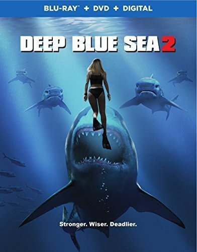 Deep Blue Sea 2 Savre Beach Mayes Blu Ray DVD Dc R