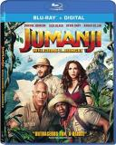 Jumanji Welcome To The Jungle Johnson Gillan Hart Black Blu Ray Dc Pg13