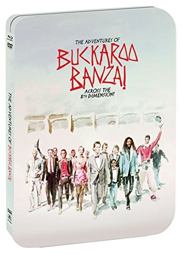The Adventures Of Buckaroo Banzai Across The 8th Dimension Weller Lithgow Blu Ray Pg Limited Edition Steelbook