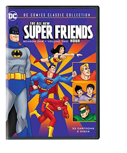 All New Super Friends Hour Season 1 Volume 2 DVD Nr