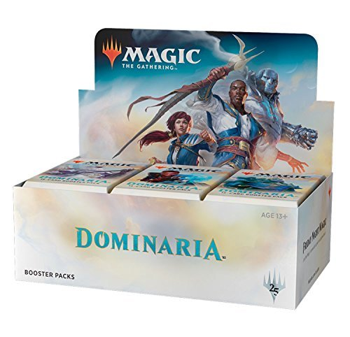 Magic The Gathering Cards Dominaria Full Display Box Of 36 Booster Packs