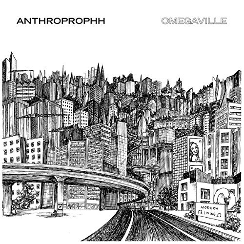 Anthroprophh Omegaville 2xlp Green & Clear Swirl Color Vinyl