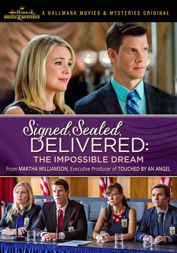 Signed Sealed Delivered The Impossible Dream Mabius Booth DVD