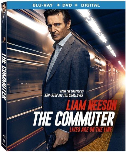 The Commuter Neeson Farmiga Blu Ray DVD Pg13