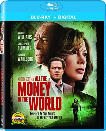 All The Money In The World Williams Plummer Wahlberg Blu Ray Dc R