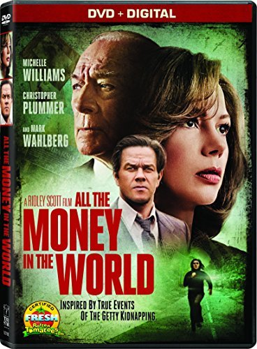 All The Money In The World Williams Plummer Wahlberg DVD R