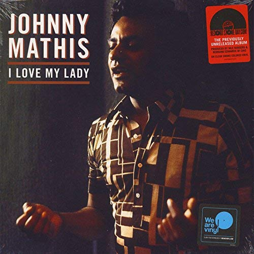 Johnny Mathis I Love My Lady Clear Smoke Vinyl
