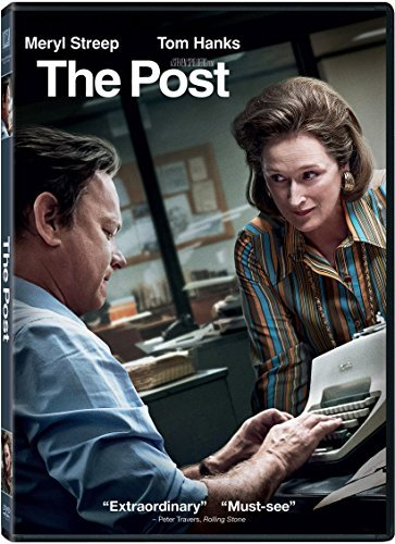 The Post Streep Hanks DVD Pg13