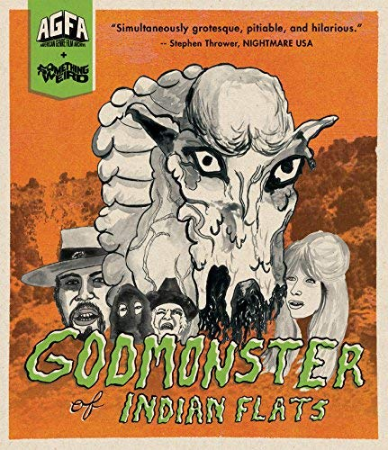 Godmonster Of Indian Flats Brooks Lancaster Blu Ray R