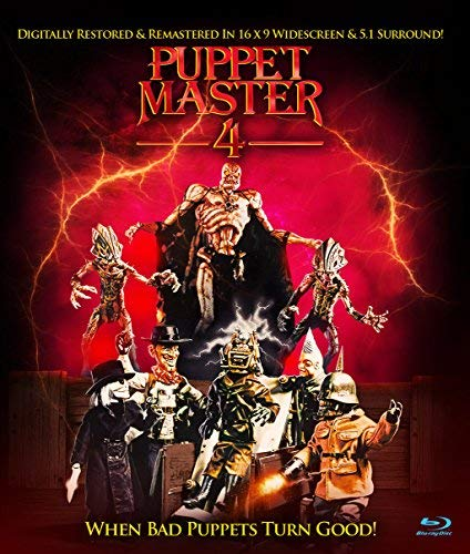 Puppet Master 4 Currie West Blu Ray R