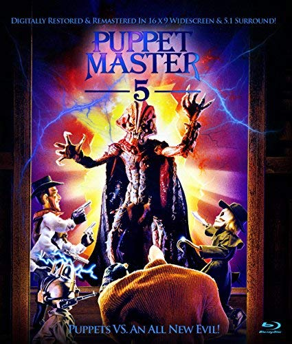 Puppet Master 5 Currie West Blu Ray R