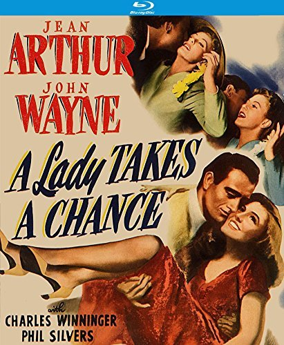 A Lady Takes A Chance Arthur Wayne Blu Ray Nr