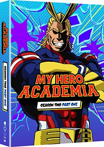 My Hero Academia Season 2 Part 1 Blu Ray DVD Limited Edition