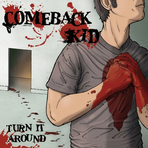 Comeback Kid Turn It Around Lp Red W Black Mixed Colored Vinyl Indie Exclusive Limited To 750