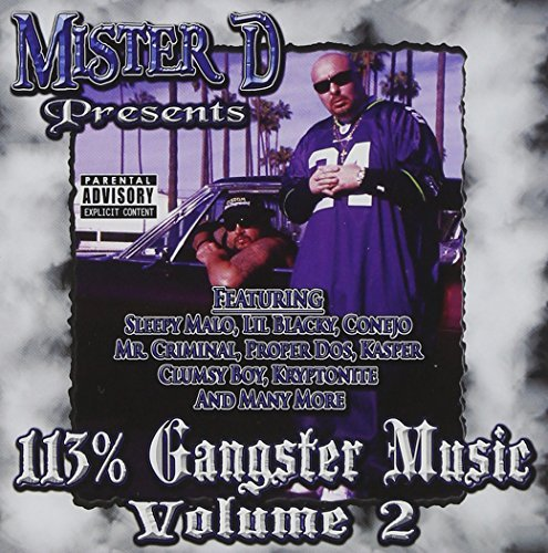 Mister D Vol. 2 113 Percent Gangster Mu Explicit Version
