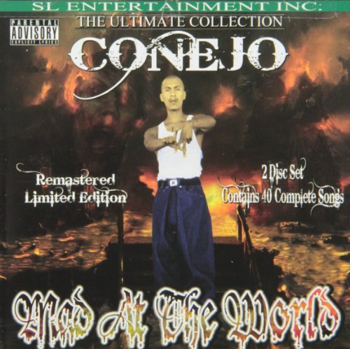 Conejo Mad At The World Explicit Version 2 CD